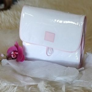 New Estee Lauder Hanging Travel Makeup Bag pink